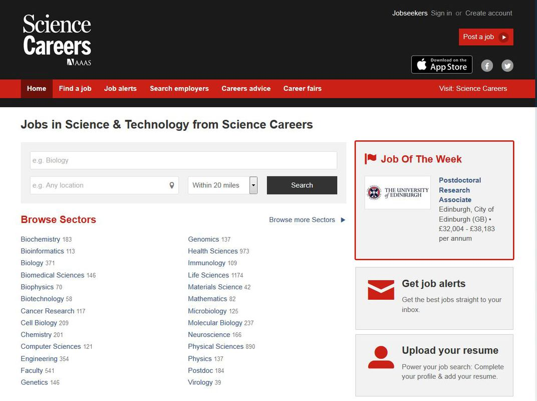 Your Job Displays Prominently For One Week In The Upper Right Corner On Science Careers Seeker Homepage